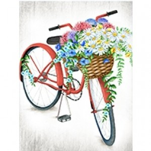 Bicycle Ride Perforated Bookmarks