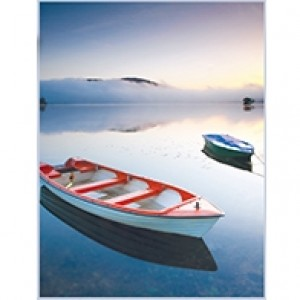 Calm Waters Perforated Bookmarks