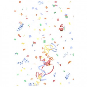 Confetti Perforated Bookmarks