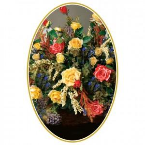 Elegant Bouquet Perforated Bookmarks