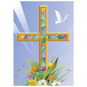 Faithful Cross Perforated Bookmarks