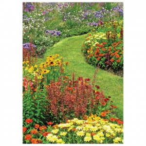 Garden Path Perforated Bookmarks