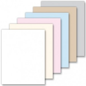 Blank Solid Color Perforated Bookmarks