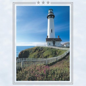 Lighthouse Perforated Bookmarks