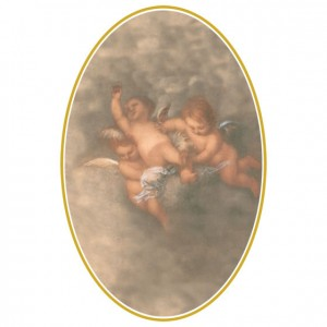 Messenger Cherubs Perforated Bookmarks
