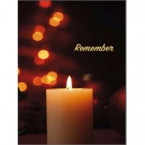 Remember Candle Perforated Bookmarks
