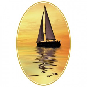 Sun Sail Perforated Bookmarks