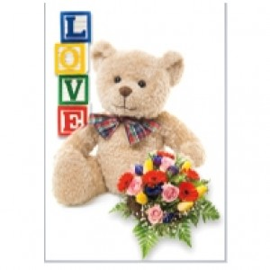 Teddy Bear Perforated Bookmarks