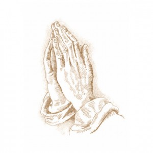 Traditional Praying Hands