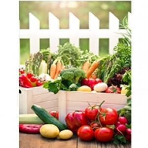 Vegetable Gardener Perforated Bookmarks