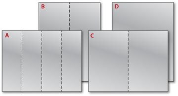 Perforated Bookmarks Composite