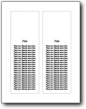 Large Bookmark Image Top